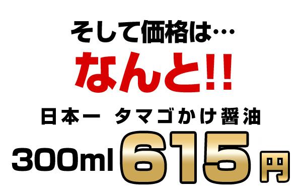 そして価格はなんと!!300ml 615円!!